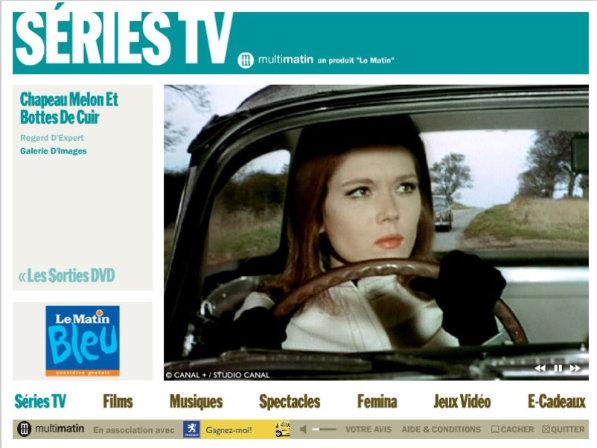 Emma Peel TV Série