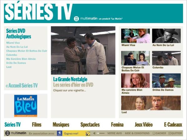 Homepage Série TV